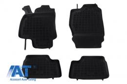 Covorase Presuri Auto Negru din Cauciuc compatibil cu OPEL Astra II G 03/1998-2009, Astra III H 04/2004-2014