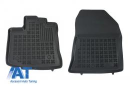 Covorase Presuri Auto Negru din Cauciuc compatibil cu DACIA Dokker Van2012-  - 203405P