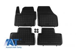 Covorase Presuri Auto Negru din Cauciuc compatibil cu Land Rover Freelander II (2007-2014) - 202901