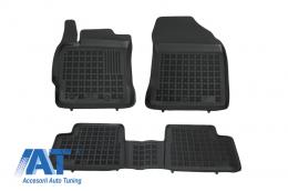 Covorase Presuri Auto Negru din Cauciuc compatibil cu TOYOTA Auris II, Auris Hybrid 2012- . - 201423