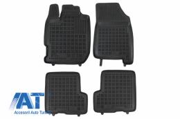 Covorase Presuri Auto Negru din Cauciuc compatibil cu DACIA Duster II (2017+) - 203409