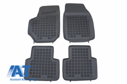 Covorase Presuri Auto Negru din Cauciuc compatibil cu FIAT CROMA II (2005 - 2011) - 201504