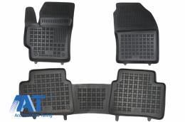 Covorase Presuri Auto Negru din cauciuc compatibil cu Toyota COROLLA XII E210 (2018-up) Sedan Station Wagon - 201437