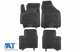 Covorase Presuri Auto Negru din Cauciuc compatibil cu Suzuki Swift V (2017-)