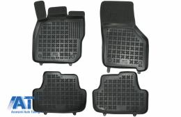 Covorase Presuri Auto Negru din Cauciuc compatibil cu VW GOLF VIII sistem Mild Hybrid (2019-up) - 200128