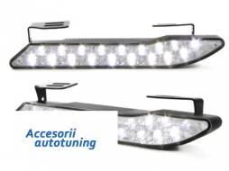 daytime running lamps 18 Super Flux Piranha LED Curve Design - LGX20