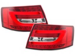 DECTANE Stopuri LED Audi A6 4F SEDAN Rosu / Clar- - RA19SLRC
