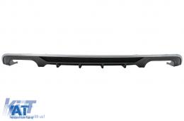 Difuzor Bara Spate compatibil cu AUDI A3 8V Facelift Sedan (2016-2019) S3 Design Bara Standard - RDAUA38VFSN