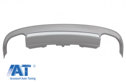 Difuzor Bara Spate compatibil cu AUDI A5 8T 2 Usi Coupe/Cabriolet (2012-2015) S5 Design - RDAUA58TS52D