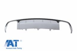 Difuzor Bara Spate compatibil cu AUDI A6 4G Facelift (2015-2018) S6 Design - RDAUA64GFS6SL