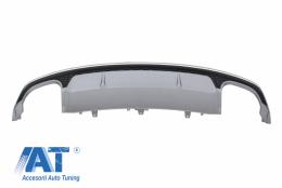 Difuzor Bara Spate compatibil cu AUDI A7 4G Facelift (2015-2018) S7 Design - RDAUA74GS7FSL