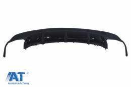 Difuzor Bara Spate compatibil cu MERCEDES Benz W117 CLA (2013-up) A-Design Black - RDMBW117AMGB