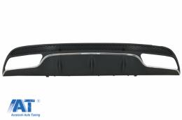 Difuzor Bara Spate compatibil cu MERCEDES C-Class W205 S205 (2014-2020) C63 Design doar pentru Sport Package - RDMBW205AMG