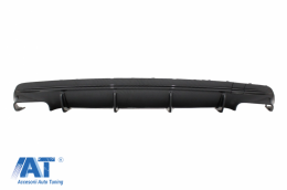 Difuzor Bara Spate compatibil cu MERCEDES CLA W117 (2013-2018) Facelift CLA45 Carbon Look - RDMBW117FCF