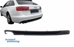 Difuzor Bara Spate Cu Evacuare Stanga Audi A6 4G (2012-2015) S-Line S6 Design