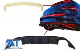 Difuzor Bara Spate VW Golf 7 VII (2013-2017) ABT Look si  Eleron Luneta R Design - CORDVWG7ABTR