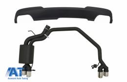 Difuzor cu Sistem Evacuare compatibil cu BMW Seria 5 F10 (2011-2016) - COEESBMF10RDD