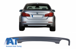 Difuzor de aer cu evacuare dubla compatibil cu BMW F10 Seria 5 (2011-2017) 550I Design - RDBMF10LCIDO