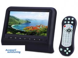 DVD Player Auto Universal Display Monitor pentru tetiere - Negru - XD9901B