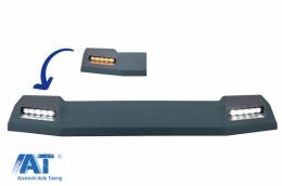Eleron Frontal Semnal LED Dinamic compatibil cu MERCEDES G-Class W463  (1989-2017) 6X6 Design - FRSMBW463BFW