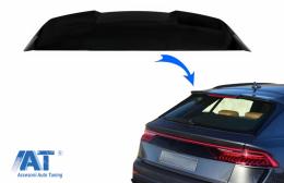 Eleron Luneta Negru Lucios compatibil cu Audi Q8 SUV (2018+) RS Design - RSAUQ8RSPB