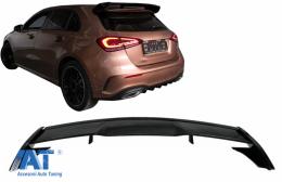 Eleron Portbagaj compatibil cu Mercedes A-Class Hatchback W177 (2018-up) A45 Design Piano Black - TSMBW177PB