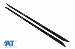Extensii Praguri Laterale Negru Lucios compatibil cu BMW Seria 3 G20 Sedan G21 Touring (2018+) M Sport Design - SSLBMG20MP