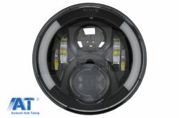 Far pentru Motocicleta 75W 7 inch IP67 H4 LED compatibil cu Honda CB400 CB500 CB1300 / Hornet 250 / Hornet 600 Hornet 900 / VTR250 VTEC400 - HLU7INCHMOTO2