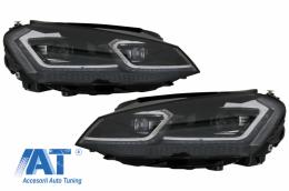 Faruri 3D LED Volkswagen VW Golf 7 VII (2012-2017) Facelift G7.5 Look - HLVWG7FS