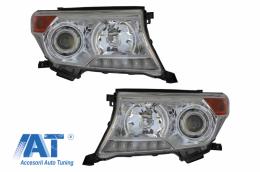 Faruri compatibile cu TOYOTA Land Cruiser FJ200 (2008-2012) Facelift 2012 Look - HLTOLC200