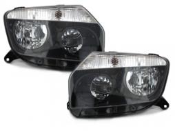 Faruri Dacia Duster 09 + negru - SWD02B