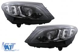 Faruri Full Multibeam LED compatibil cu Mercedes C-Class W205 S205 (2014-2018) LHD - HLMBW205FX