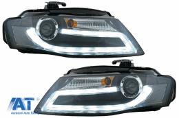 FARURI LED AUDI A4 B8 8K 2008-2011 Facelift Light Bar Design Lumina De Zi LED DRL - SWA16SLGXB/1018685