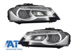 Faruri LED compatibil cu AUDI A3 8P1 (2008-2012) Negru - 1032280