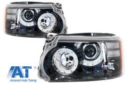 Faruri LED compatibil cu Range Rover Sport L320 (2009-2013) Facelift Design - HLRRSFOE