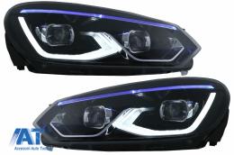 Faruri LED compatibil cu VW Golf 6 VI (2008-2013) conversie Golf 8 Look - HLVWG6LED