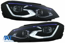 Faruri LED compatibil cu VW Golf 7 VII (2012-2017) conversie Golf 8 Look - HLVWG7LED