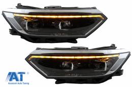 Faruri LED compatibil cu VW Passat B8 3G Facelift (2016-2019) 2020 Look cu Semnal Dinamic