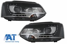 Faruri LED Dayline compatibil cu VW Transporter T5 (2010-2015) Xenon Look - HLVWT5/LPVWM4