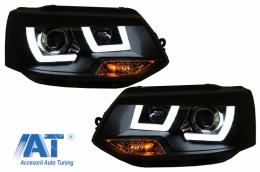 Faruri LED Dayline compatibil cu VW Transporter T5 (2010-2015) Xenon Look - HLVWT5U