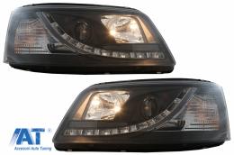 Faruri LED DRL Daylight compatibil cu VW Transporter T5 (04.03-08.09) - HLVWT5DRLB