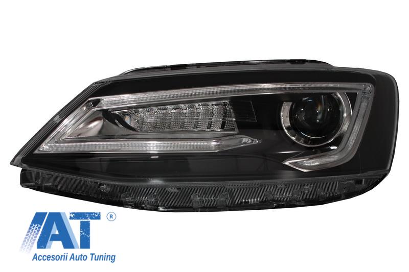 Faruri LED DRL VW Jetta Mk6 VI Non GLI (2011-2017) Semnal ...