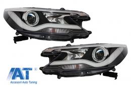 Faruri LED LightBar compatibil cu HONDA CR-V 2012-2014 RM IV Facelift Look