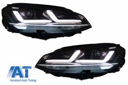 Faruri LEDriving Osram Full LED compatibil cu VW Golf 7 VII (2012-2017) Crom pentru Faruri Xenon si Pozitie Halogen - LEDHL104-CM