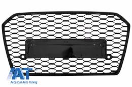 Grila Bara Fata compatibil cu AUDI A6 4G RS6 Design Facelift (2015-2018) - FGAUA64GFRS