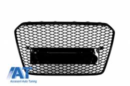 Grila Centrala Audi A5 8T (2012-2015) RS Design - FGAUA58TFRSB