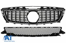 Grila Centrala compatibil cu Mercedes CLS W218 (2012-2014) GT-R Panamericana Design - FGMBW218AGTRCN