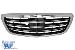Grila Centrala compatibil cu MERCEDES W222 S-Class (2014-) AMG S63 S65 Design - FGMBW222AMG