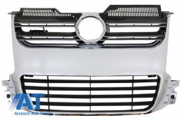 Grila Centrala compatibil cu VW Golf 5 V (2003-2009) Crom R32 Design