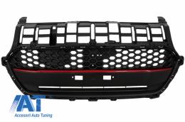 Grila Centrala compatibila cu Suzuki Swift ZC33S (2017-up) Negru cu Rosu - FGSZSBR